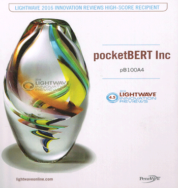 pocketBERT 2016 Award Winner
